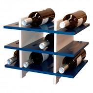 Estantería Botellero para 12 botellas en 5 colores|PV5112