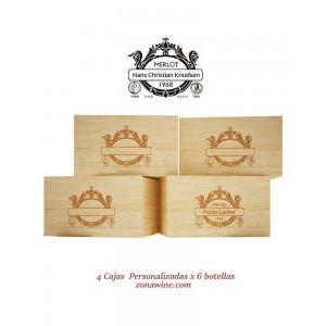 Cajas de Vino de Madera...