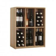 Organizador 48 Botellas 6 divisiones interiores|EX7206 Serie Malbec