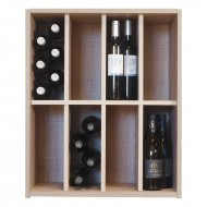Botellero  organizador 48 botellas 8 divisiones EX7208 Serie Malbec