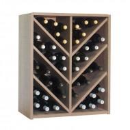 Botellero Espiga hasta 42 botellas en Vinotecas | Alto 72x60x34