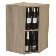 Armario Botellero para Rincón hasta 40 botellas|EX7225 Serie Malbec
