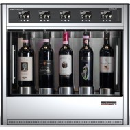 Dispensador Automático de Vino por Copas para 5 Botellas