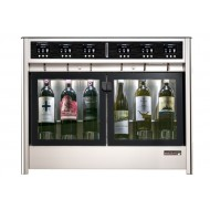 Dispensador de grandes vinos por copas - 2 temperaturas - 6 Botellas