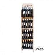 Expositor PRO para vinos y gourmet 80 botellas|PersonalizablE