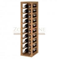 Botellero para 20 botellas de vino en madera → Serie Godello|EX2032