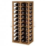 Botellero vino 40 botellas en madera → Botellero Godello EX2034