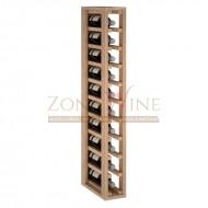 Botellero modular para 10 botellas de vino en madera maciza de roble - foto 2