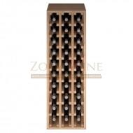 Botellero modular Godello 3 x10 en roble de 10 a 60 botellas|ER2033