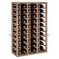 Botellero modular para 60 botellas de vino en madera maciza de roble - foto 2