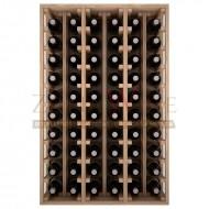 Botellero modular Godello 6 x 10 en Roble de 10 a 60 botellas|ER2060