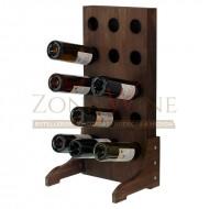 Botellero vertical para vino y cava en color nogal para 15 botellas  EX4515