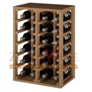 Botellero apilable para 24 botella casa o bodega-EX2014