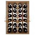Botellero en pino para 24 botellas casa o bodega-EX2014