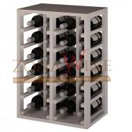 Botellero  blanco  para 24 botellas casa o bodega-EW2014