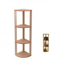 Estantería de madera para rincón de accesorios de vino y licores|EB2001