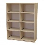 Mueble de estantes extraibles para cajas de vino|Serie Godello