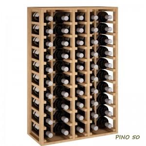 Botellero de madera Serie...