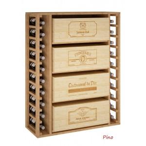 Mueble para cajas de vino...