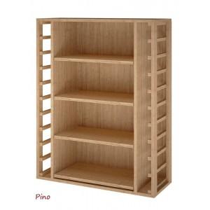 Estantería para cajas de vino (4 x 12 botellas). Hecha en España Se entrega montado. 105/82/32 cm fondo