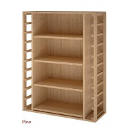Estantería para cajas de vino 4x12 botellas / Fabricación Española / 105x82x32 fondo