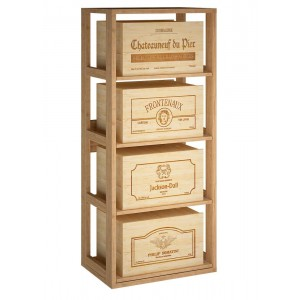 Estante para cajas de vino...