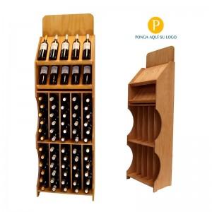 Expositor marcas de vinos...