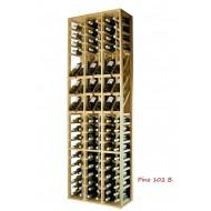 Botellero Expositor profesional 102 botellas y Marcas de vino  EX2090