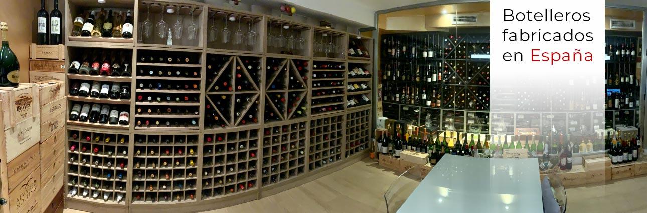 Botelleros, vinotecas y bodegas a medida - ZonaWine.com
