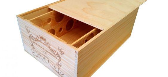 Ideas para reciclar cajas de vino.