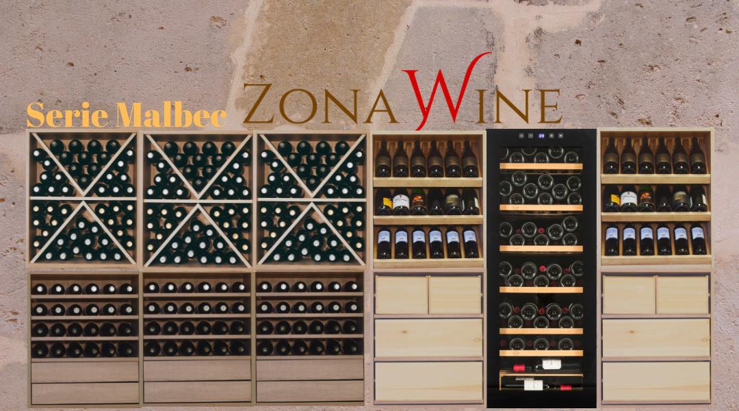 vinoteca con serie malbec y vinobox en zonawine.com