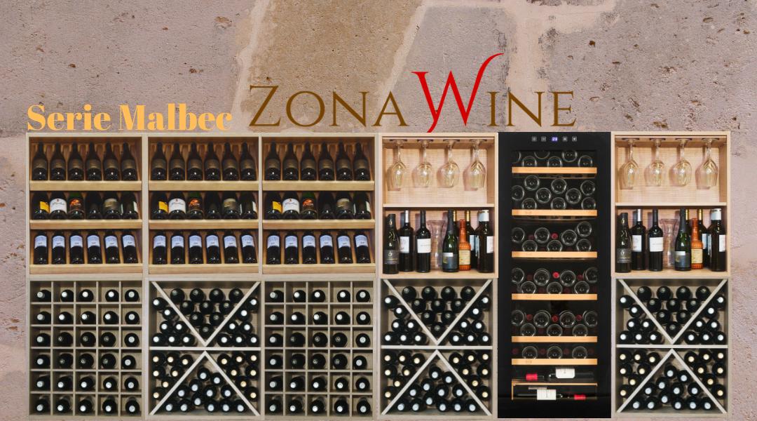 Vinoteca  Serie Malbec de Zonawine.com y Vinobox