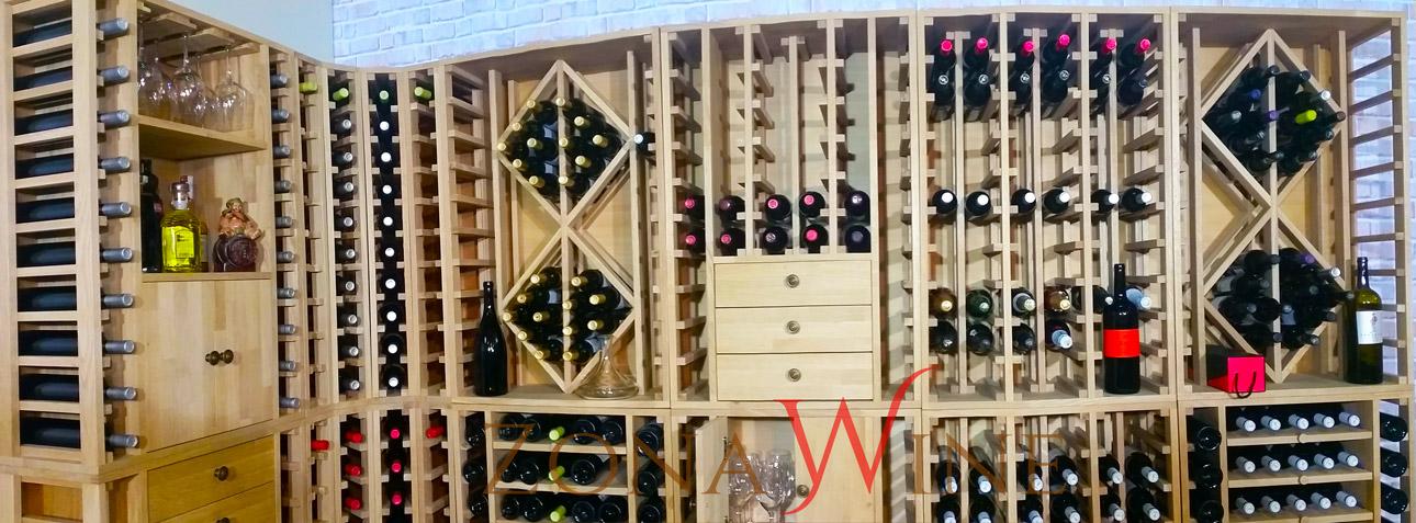 Exposicion-muebles-vinoteca-serie-godello-de-zonawine